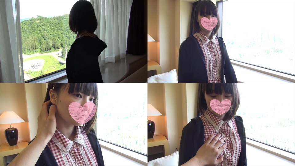 FC2 PPV 964787 Complete-faced ロ リ loli face & loli black-haired JD 18-year-old in the daytime shame SEX &