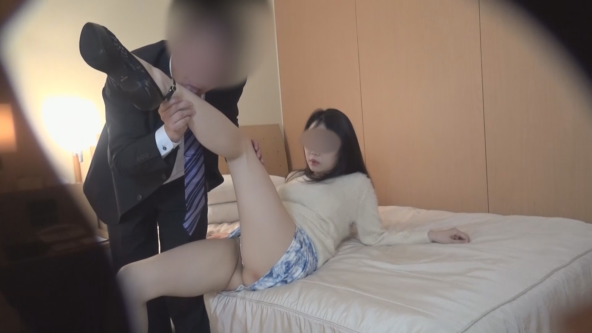 FC2 PPV 1005452 shooting Nao 29 years old, blindfolded cuckold Hen strangers who replaced the rod is bold